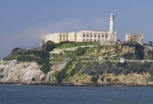 View of Alcatraz, from San Francisco