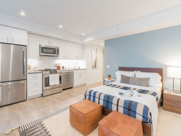 500 Folsom Serviced Apartment - Sample Image of San Francisco, CA Intern Housing