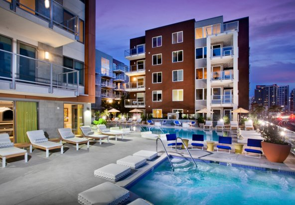 Broadstone Little Italy Corporate Home-Sample Image of San Diego CA Intern Home