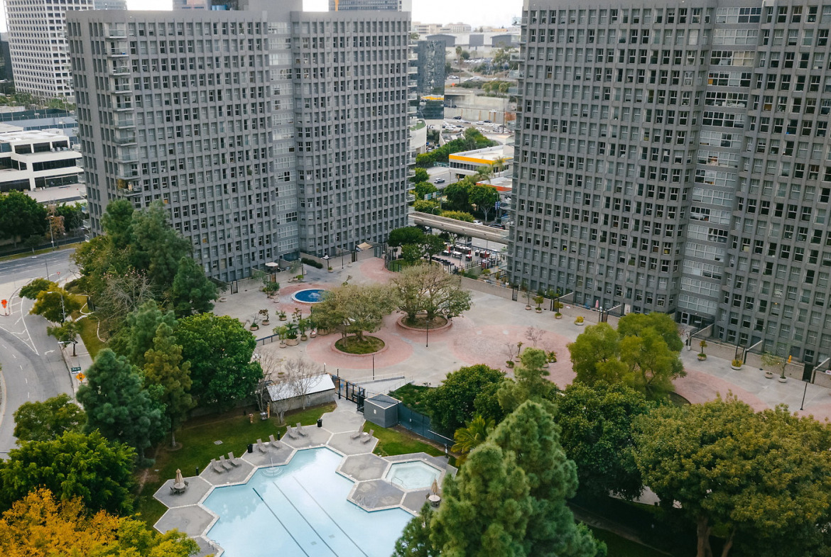 Bunker Hill Towers Short Term Stay-Sample Image of Los Angeles CA Intern Home