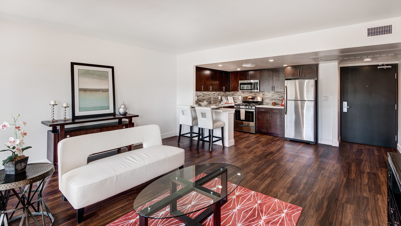 Bunker Hill Towers Furnished Home-Sample Image of Los Angeles CA Nurse Rentals