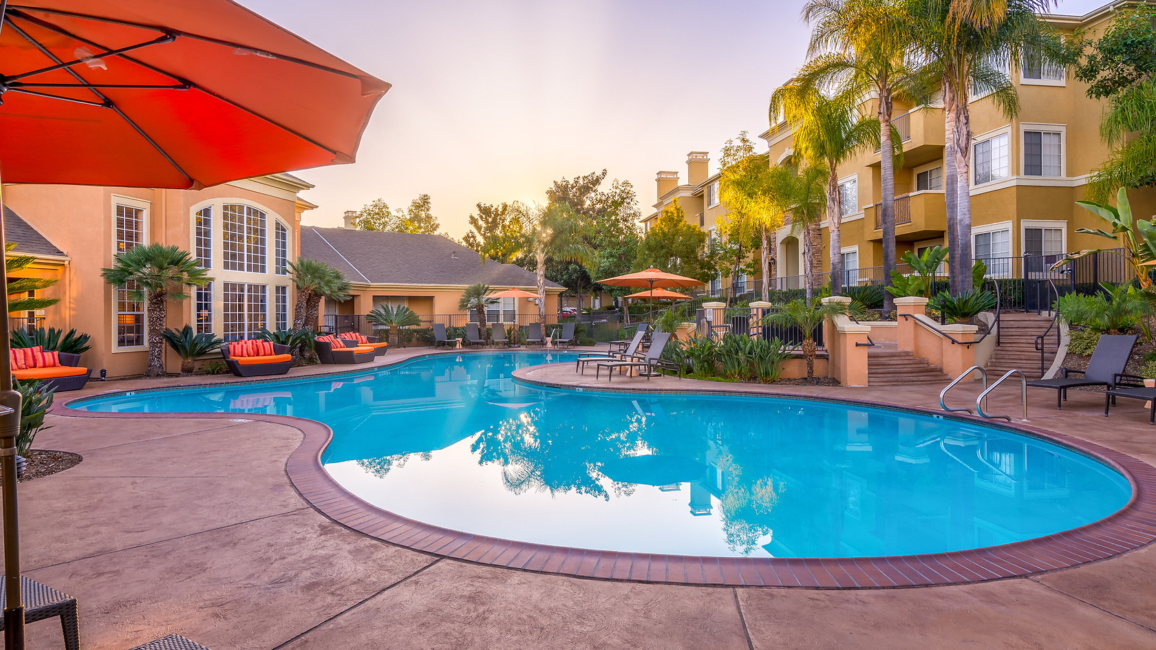 Cambridge Park Furnished Rental-Sample Image of San Diego CA Intern Home
