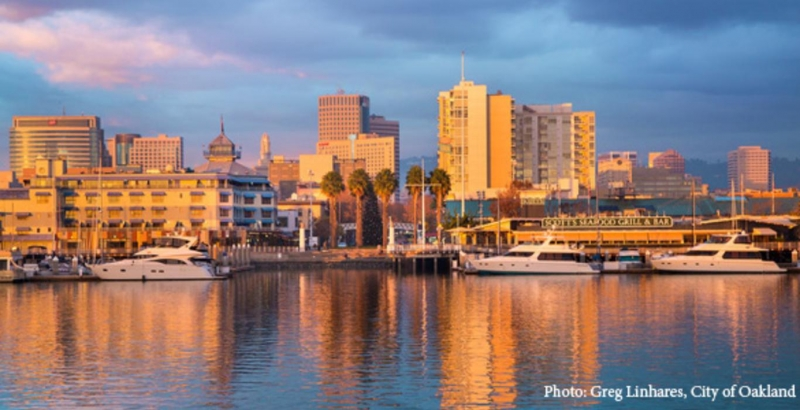 Oakland is the second city in the Bay Area, but locals call it Numero Uno!