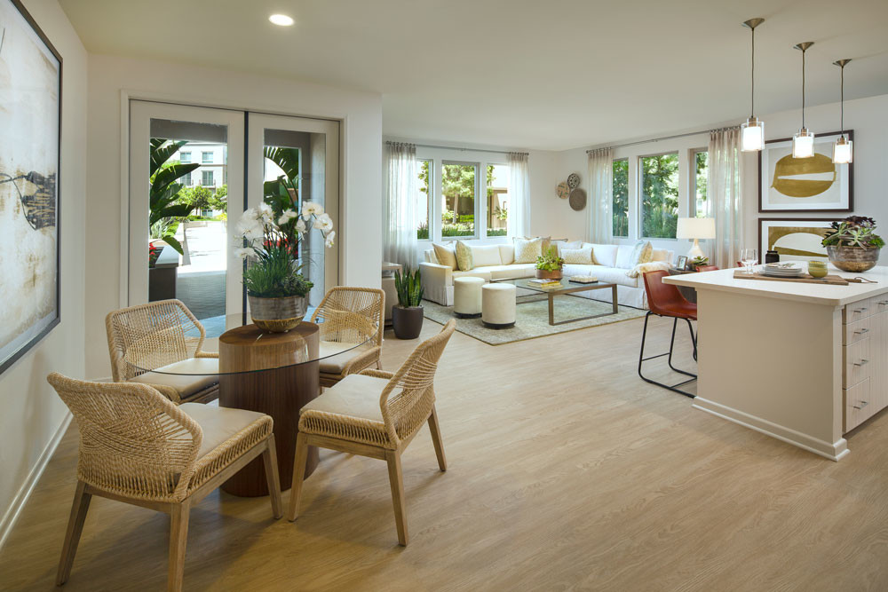 Park Place Furnished Rental-Sample Image of Irvine, CA Construction Crew Housing
