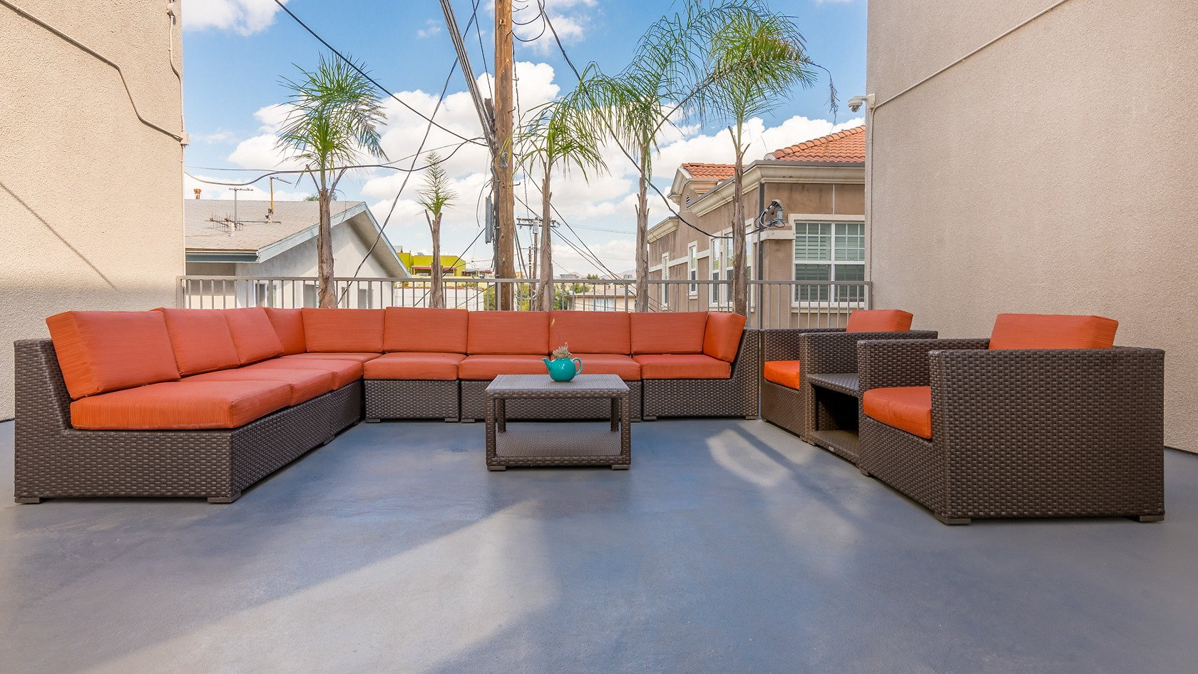 Regency Palm Court Corporate Rental-Sample Image of Los Angeles CA Intern Home