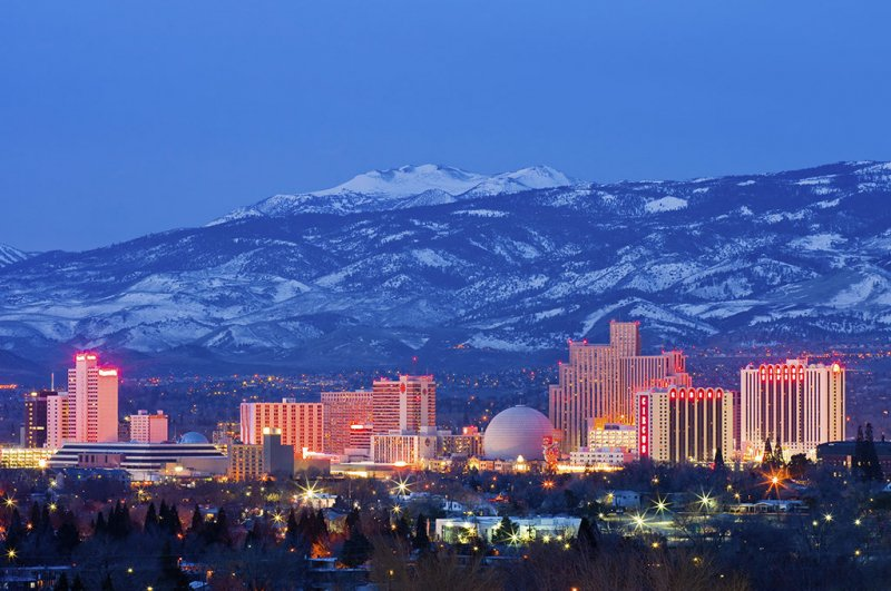 Sparks - a great town to stay in if you are visiting Reno on business