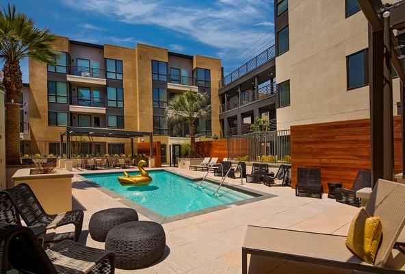 The Hudson Furnished Apartment-Sample Image of Pasadena CA Insurance Rental