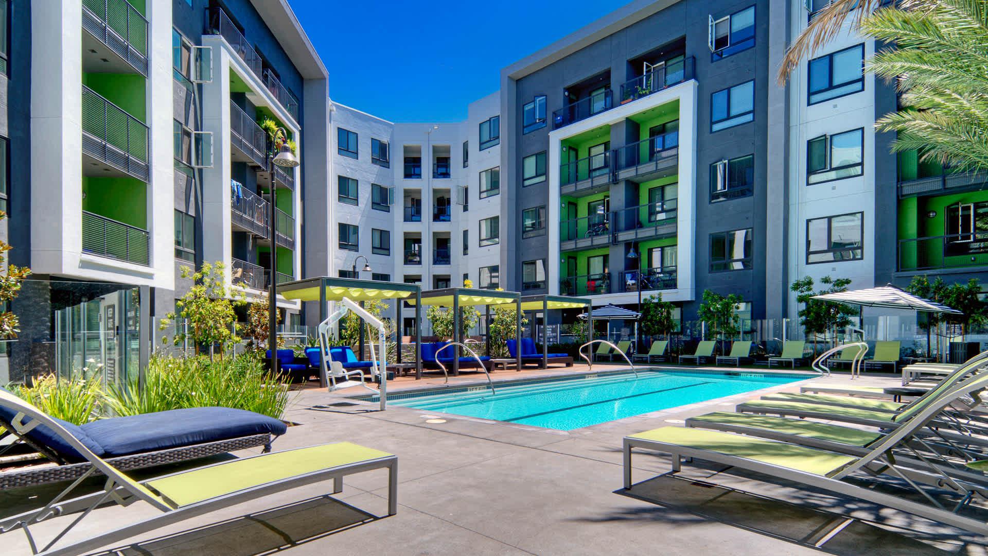 The Lex Short Term Rental-Sample Image of San jose CA Furnished Intern Rental