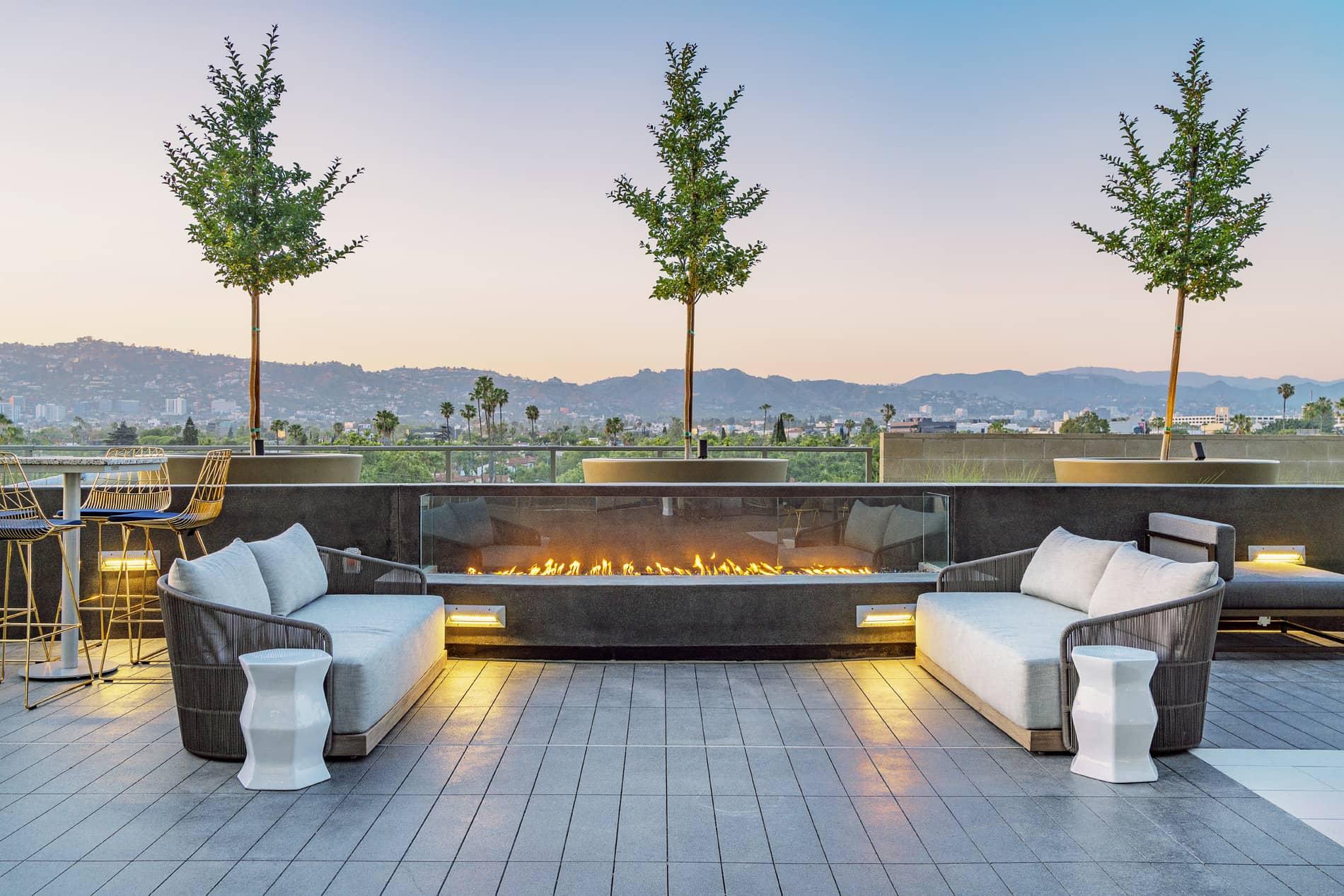 Vision on Wilshire Furnished Rental-Sample Image of Los Angeles CA Intern Home